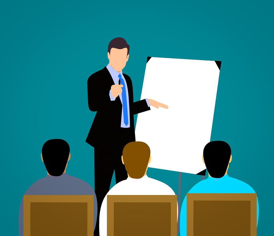 Präsentation_Geschäftsleute