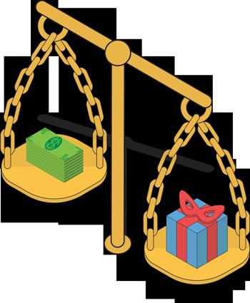 Waage_Geld_Geschenk